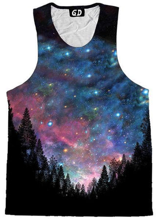 Gratefully Dyed - Galactic Valley Men's Tank (Ready to Ship)