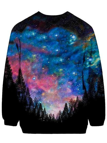 Gratefully Dyed Galactic Valley Sweatshirt