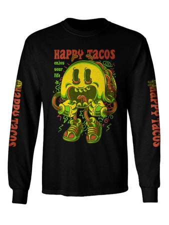 Gratefully Dyed - Happy Taco Long Sleeve