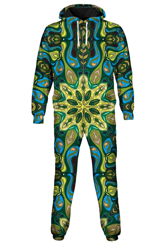 Gratefully Dyed - Lilypads Onesie