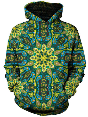 Gratefully Dyed - Lilypads Unisex Hoodie