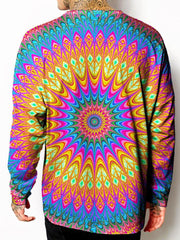 Gratefully Dyed Neon Tribe Long Sleeve T-Shirt - iEDM