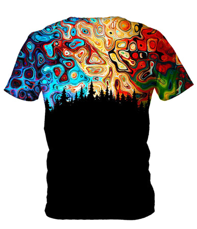 Gratefully Dyed - Night Sky Men's T-Shirt