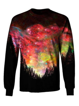Gratefully Dyed - Rasta Woods Long Sleeve