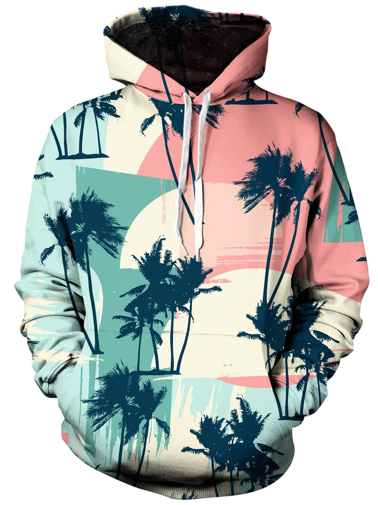Gratefully Dyed - Retro Palms Unisex Hoodie