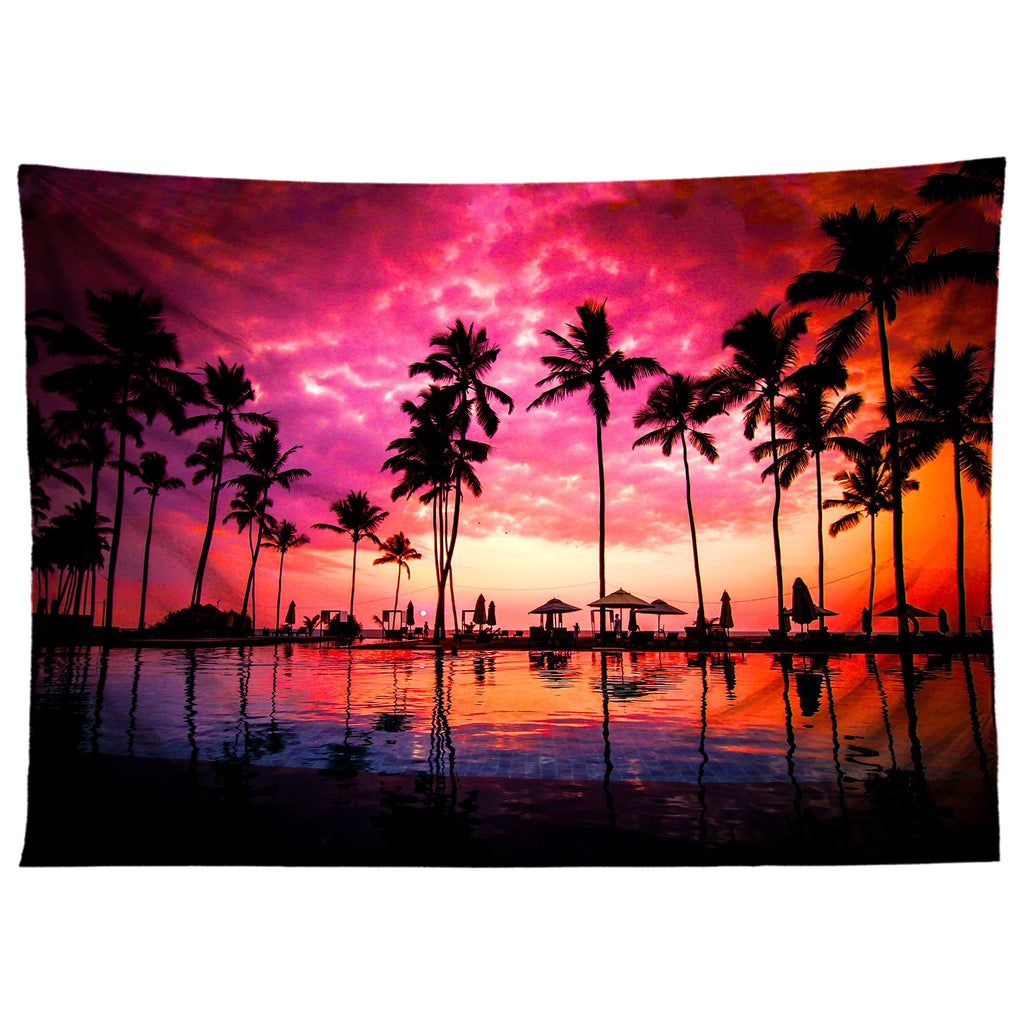 Gratefully Dyed Setting Sun Tapestry