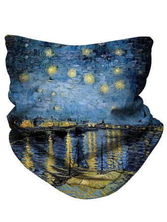 Gratefully Dyed - Starry Waters Bandana Mask