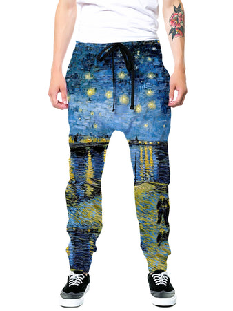 Gratefully Dyed - Starry Waters Joggers