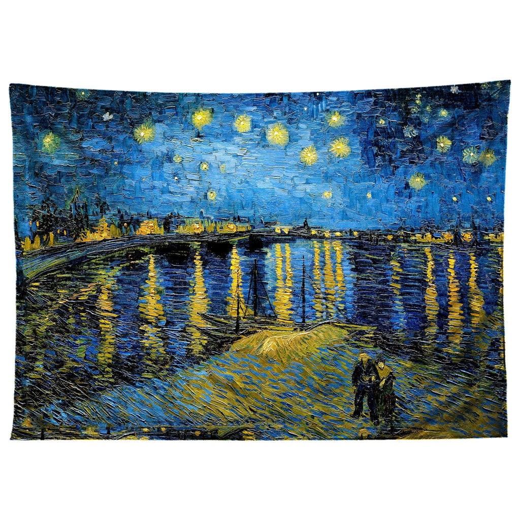 Gratefully Dyed Starry Waters Tapestry