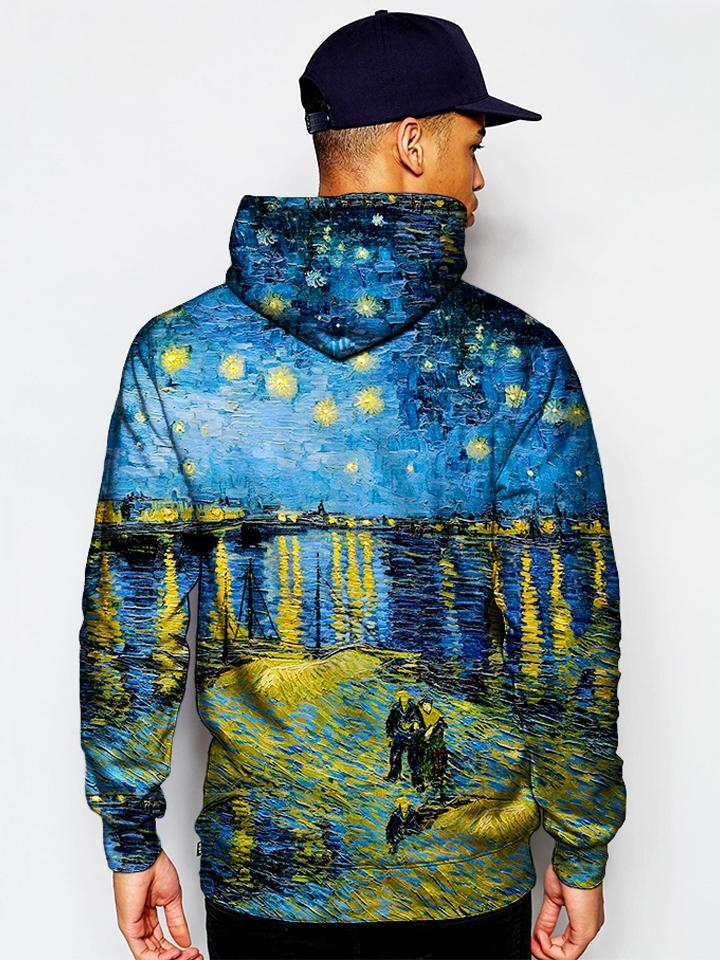 Gratefully Dyed Starry Waters Unisex Hoodie
