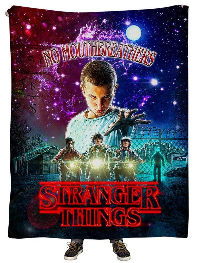Gratefully Dyed Stranger Things Blanket - iEDM