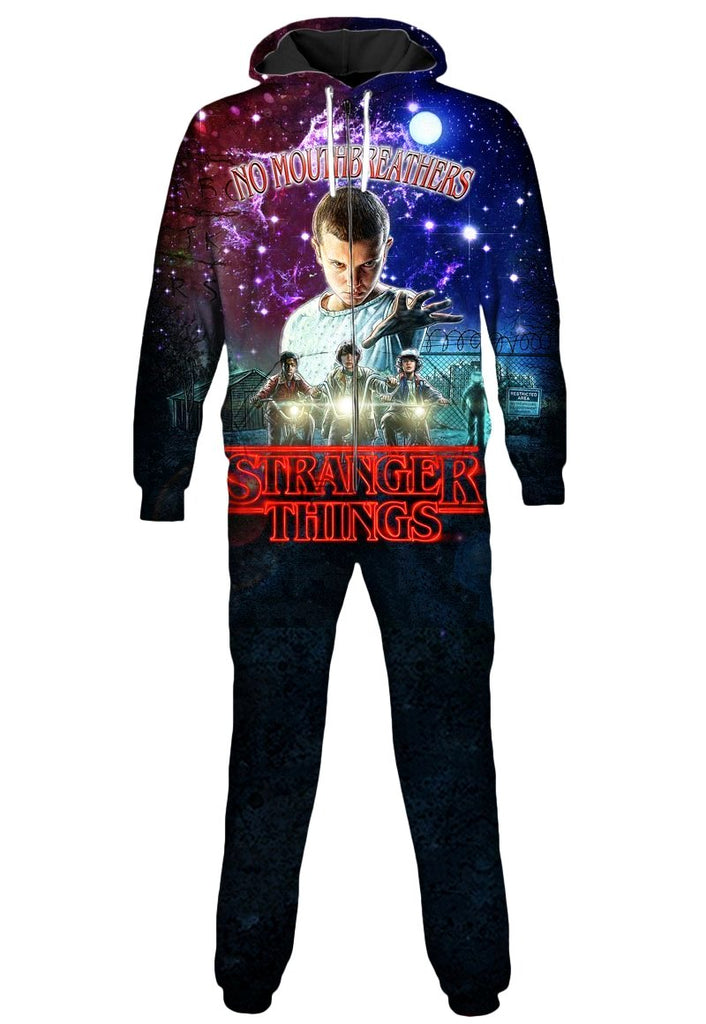 Gratefully Dyed Stranger Things Onesie - iEDM