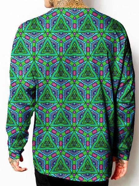 Gratefully Dyed Tessellate Long Sleeve - iEDM