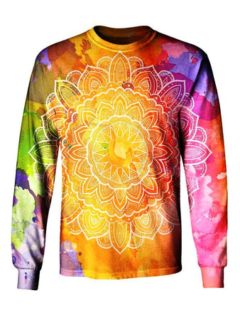 Gratefully Dyed - Watercolors Long Sleeve