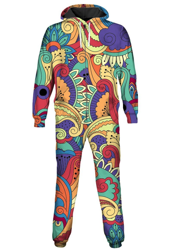 Gratefully Dyed Wonderland Onesie - iEDM