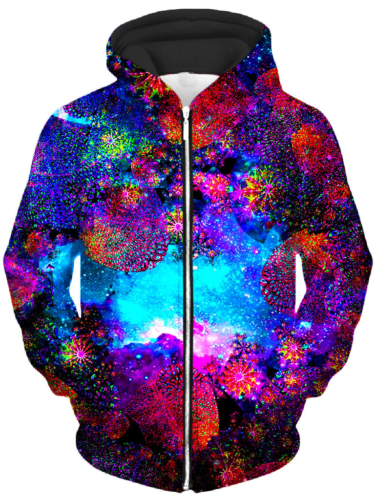 Heather McNeil Underwater Abyss Unisex Zip-Up Hoodie