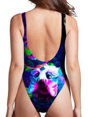 Heather McNeil Upside Down High Cut One-Piece Swimsuit