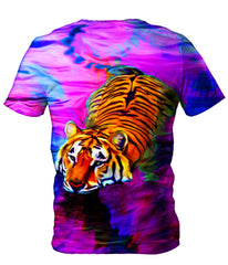 Heather McNeil Water Tiger Men's T-Shirt
