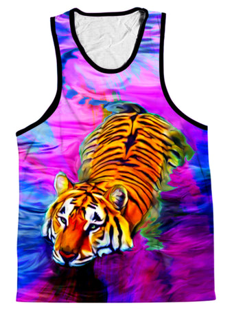 Heather McNeil - Water Tiger Men's Tank