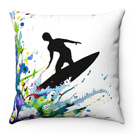 Home Decor - A Pollock's Point Break Square Pillow Case