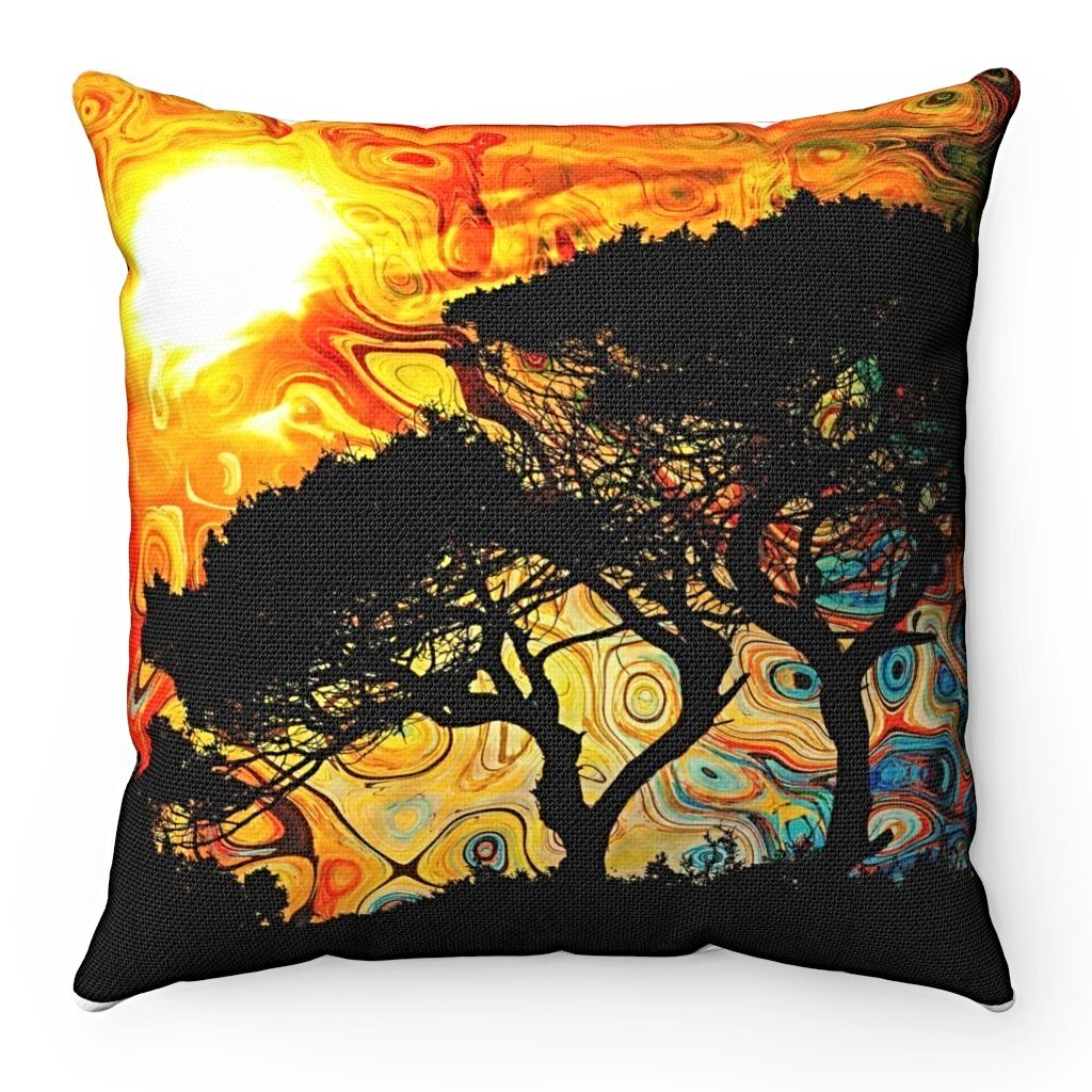 Home Decor - African Sun Square Pillow Case