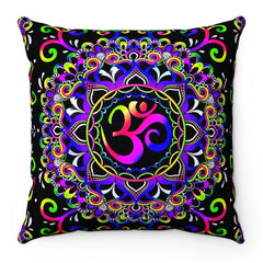Home Decor Doodle Ohm Pillow Case