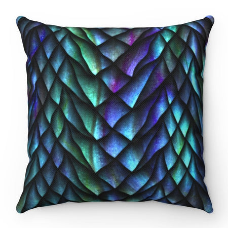 Home Decor - Dosed Dragon Scale Pillow