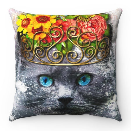 Home Decor - Finest Feline Square Pillow Case