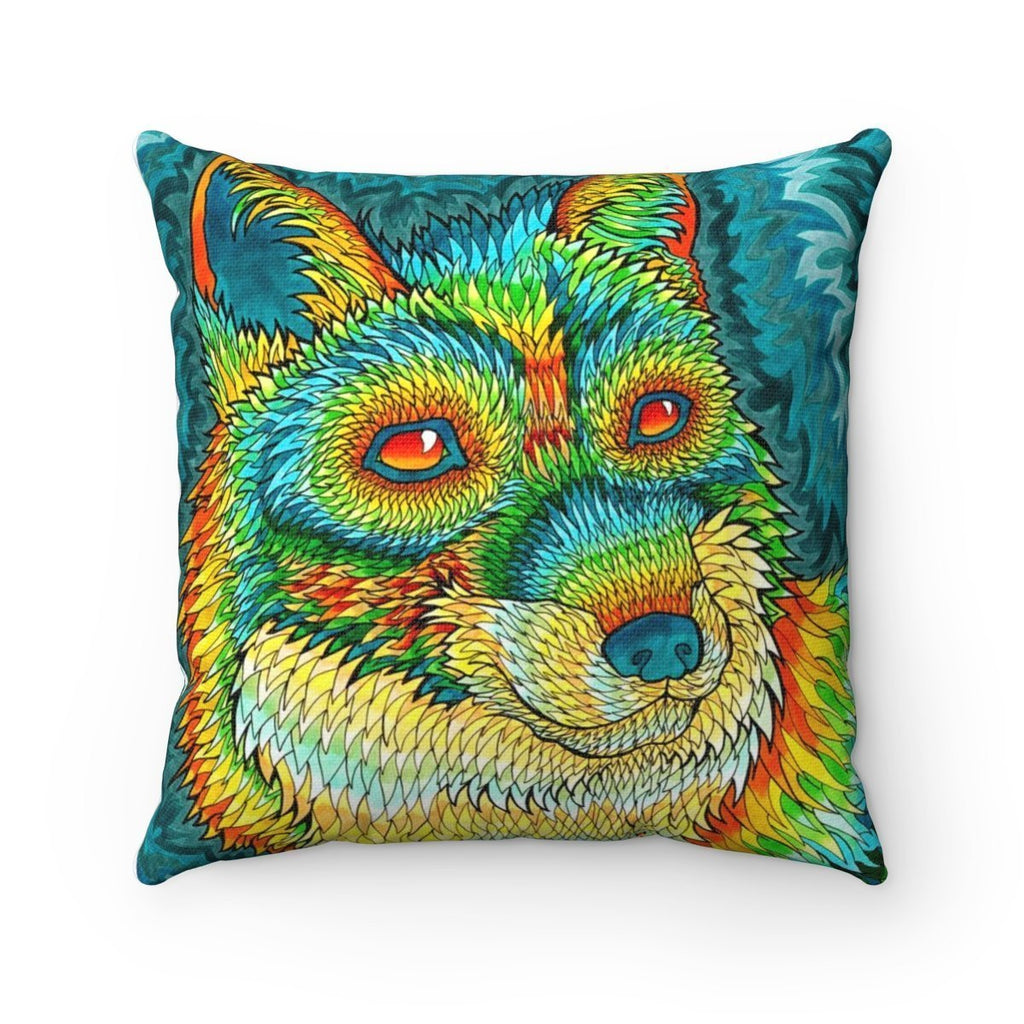 Home Decor Foxadelic II Square Pillow Case - iEDM