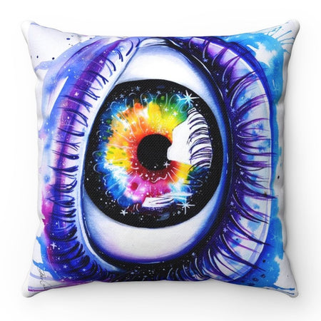 Home Decor - Galaxy Eye Square Pillow Case