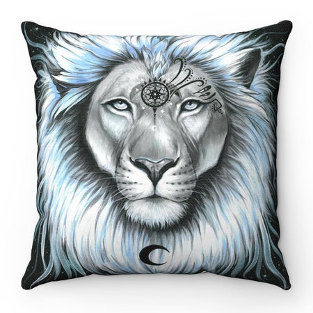 Home Decor - Lion Galaxy Square Pillow Case