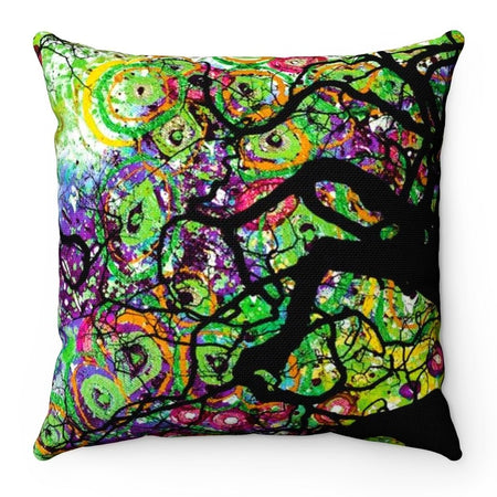 Home Decor - Radial Roots Square Pillow Case