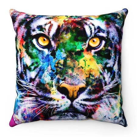 Home Decor - Tiger Square Pillow Case