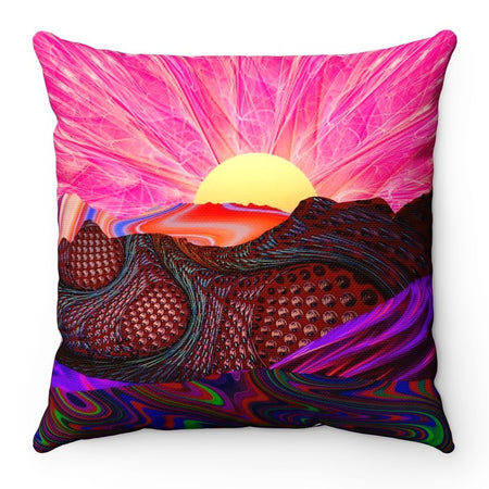Home Decor - Trippy Trek Square Pillow Case