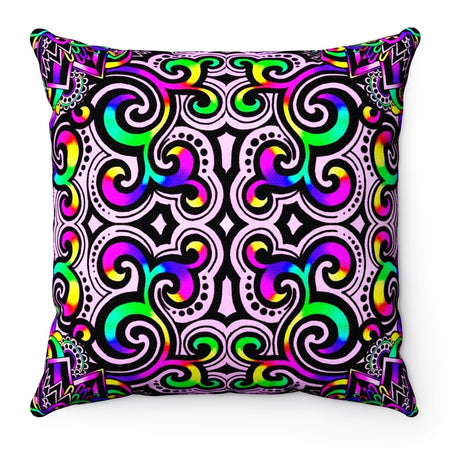 Home Decor - White Doodle Magic V2 Pillow Case