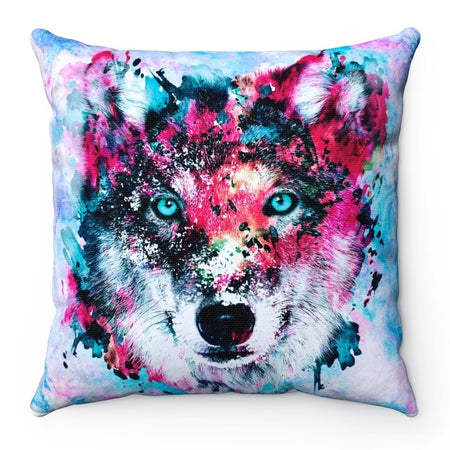 Home Decor - Wolf Square Pillow Case