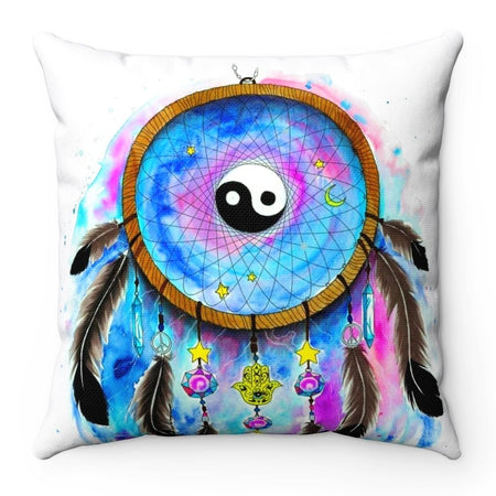 Home Decor - Yin Yang 2 Square Pillow Case