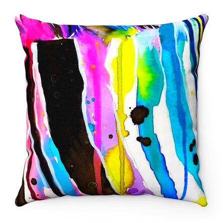 Home Decor - Zebra Bunt Square Pillow Case