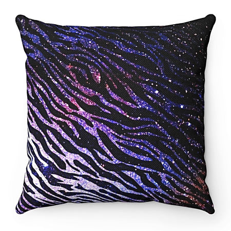 Home Decor - Zebra of the Night Square Pillow Case