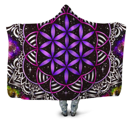BrizBazaar - Oracle of Life Hooded Blanket