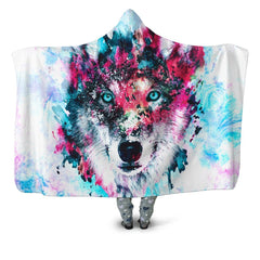 Hooded Blanket Wolf Hooded Blanket - iEDM