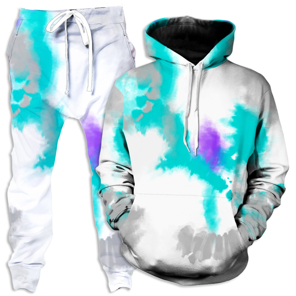 iEDM 90s Filtered Hoodie and Joggers Combo - iEDM