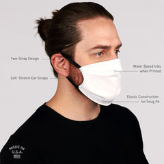 iEDM Bones Non-Filter Face Mask (READY TO SHIP) - iEDM