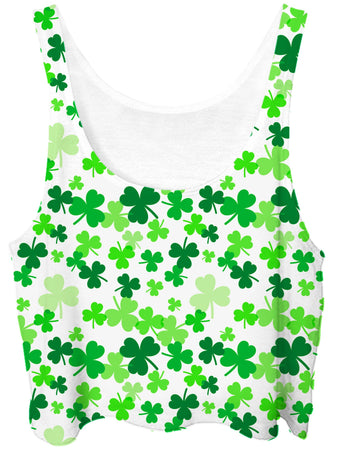iEDM - Clover Field Crop Top