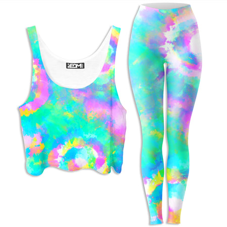 iEDM - Day Dreams Crop Top and Leggings Combo