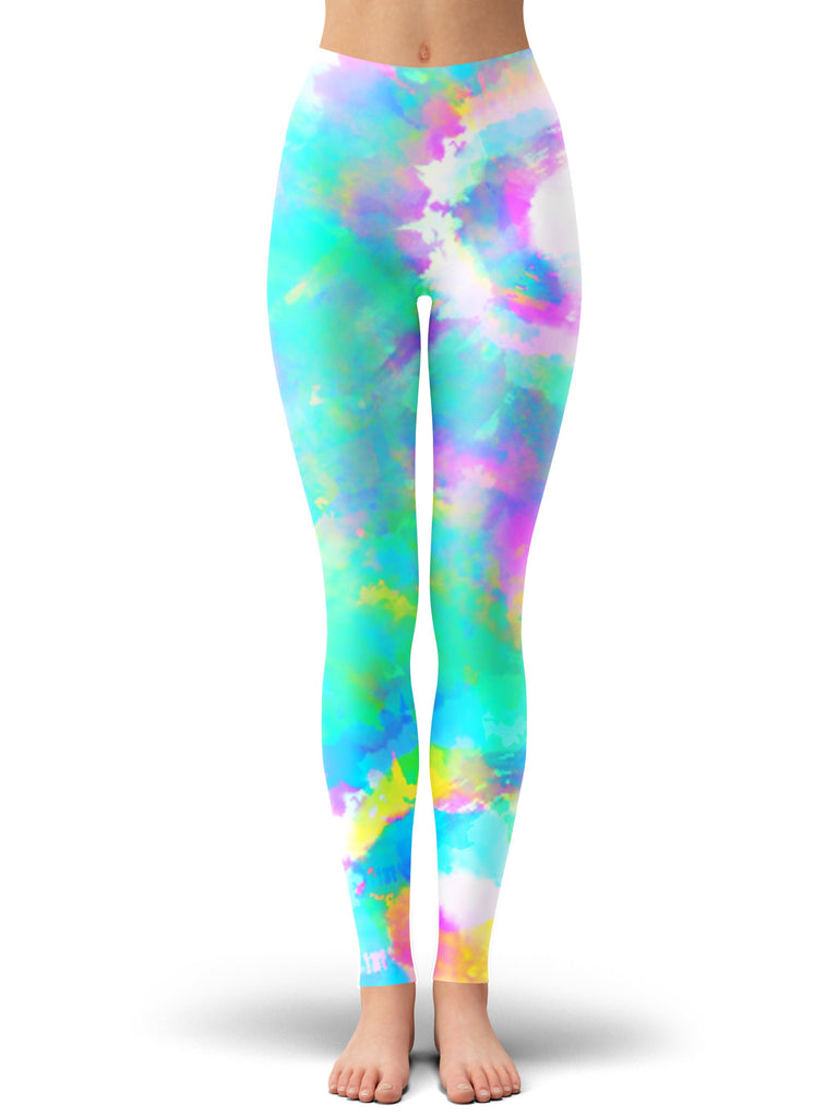 iEDM Day Dreams Crop Top and Leggings Combo - iEDM