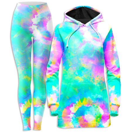 iEDM - Day Dreams Hoodie Dress and Leggings Combo