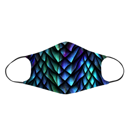 iEDM - Dosed Dragon Scale Non-Filter Face Mask
