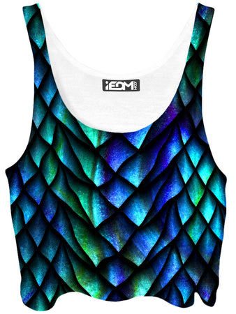 iEDM - Dosed Dragon Scale Crop Top