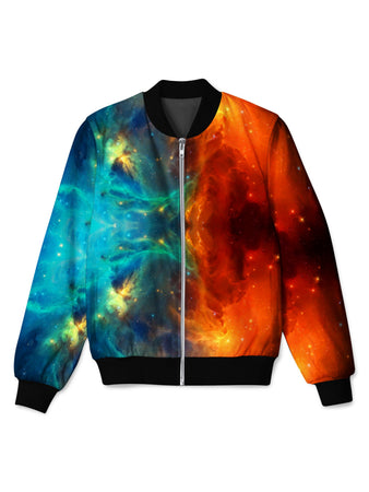 iEDM - Fire and Ice Galaxy Bomber Jacket